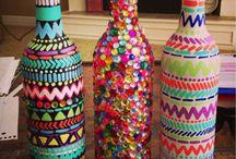 tasarım şişeler