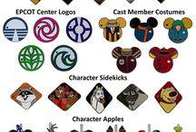 Disney Pin Sets