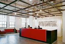 industrial ceilings / New look Inspiration for the The Old Needle Works Craft Shop