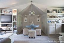 Home Offices and Craft Rooms / Home offices and craft rooms are active areas in any home and necessitate attractive storage and organization. Make this a room that you enjoy and will appeal to prospective home buyers. http://LoveNowSellLater.com