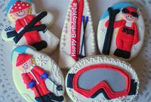Decorated winter cookies / by Rosalie Romero