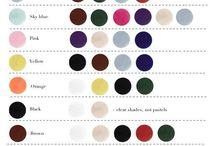 wardrobe colour guide