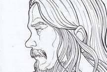 "Langitan Samboro ""drawing my self"""