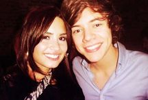 demi lovato and  1D