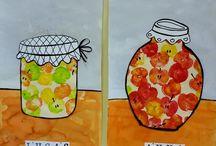 téma jablíčka