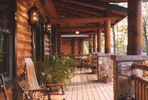 Zrubové domy - Log houses