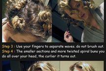 Hair: krøller
