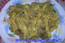 Primi piatti - Sughi vari / http://www.ricettegustose.it/Primi_index.html Ricette primi piatti, ricette facili