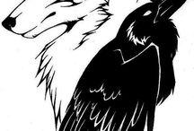 Raposa e corvo