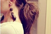 hair arrange / 髪型
