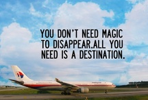 Travel Inspiration / Quotes, sayings, snippets, and inspiring words that we often identify with travel, vacation, and getting away. Many of these posts can apply to any part of your life. Today is the day and the moment is now to feel inspired!