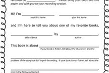 Reading/Book lessons