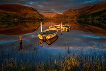 Canvas prints Snowdonia North Wales