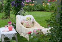 """In and Around the Garden... / I love everything """"Garden,"""" whether it be outside or inside as a decor theme."""