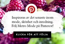 Mode och mat bloggar