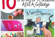 Book crafts & activities