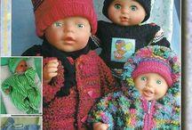 tricot pour poupees