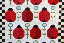 Quilts - ladybugs