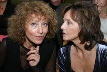 Elżbieta Starostecka i Alicja Majewska