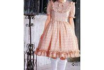 lolita sewing pattern