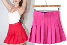Women Tennis Skirts, Pleated Mini Skirts / Women Tennis Skirts, Pleated Mini Skirts www.lestyleparfait.com