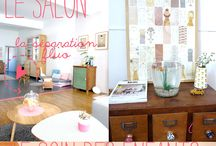 """HOME SWEET HOME / """"Home sweet home"""" visits from inspiring people by Lait Fraise Mag"""