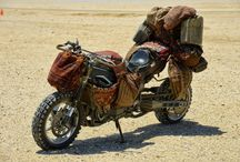 Post Apocalyptic Motorcycle