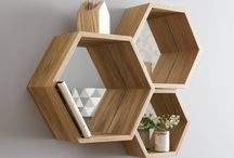 Hexa shelf Ideas