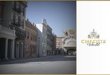 Discovering Cinecittà World / Introducing the attractions of Italy's biggest theme park dedicated to movies. We invite you to experience the special atmosphere of the world of cinema.