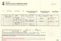 family history -HATCHED/MATCHED AND DISPATCHED certificates