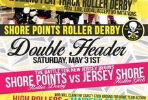 2014 Bout Posters / by Jersey Shore Roller Girls