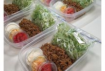 Meal prep inspo / Preparation is key for a fit body, meal prep