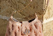 crochet taske
