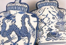 Chinese porcelain / Blue porcelain