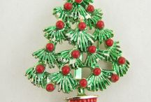 Vintage christmas tree / Jewelry