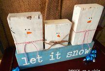 Winter Decor/Crafts