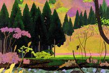 Hockney Inspired