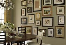 wall of frames / by Tara Brooks
