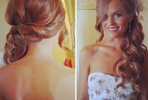 Wedding hair♡