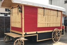 Truck food carriage/carute fast food