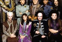 Babylon 5. / Most excellent sci fi. Unique in that the story never always ended as expected.