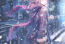 Anime Winter ❄☕♨