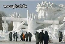 Snow & Ice Art