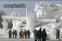 Snow & Ice Art