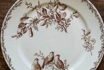 Porcelain Plats