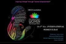 International Women's Day / The 2016 theme for International Women's Day by Sneh Foundation.