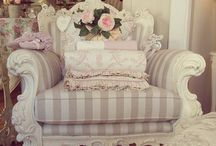 *Pretty Chairs* / Pretty and comfy chair with a good book is my kind of day ;