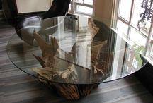 Runde Glassbord