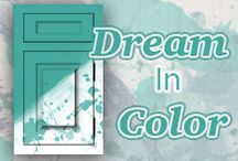 Custom Color Ideas / These are some of our favorite custom color creations that people have made from the custom color picker featured on our website. Create your own by visiting this link ------> http://plainfancycabinetry.com/custom-color