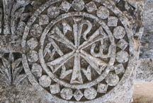 The Christian symbols